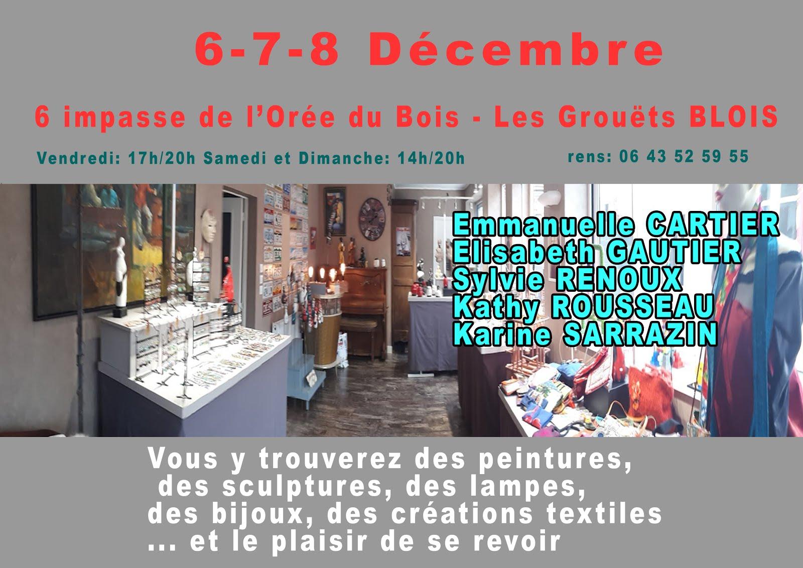 6-7-8 décembre à BLOIS