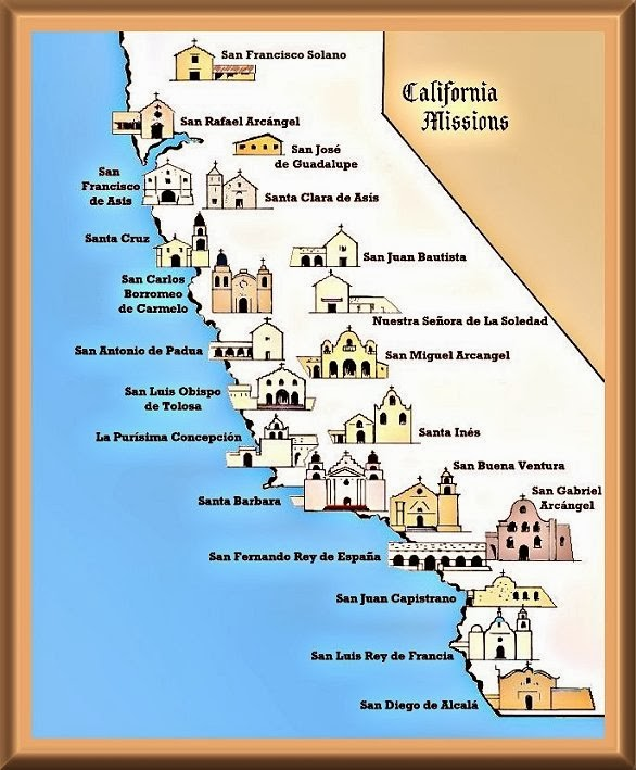 Welcome to fourth grade california mission project