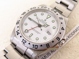 ROLEX EXPLORER II WHITE POLAR DIAL 40mm - ROLEX 16570 SERIE K YEAR 2002 - AUTOMATIC CAL 3185 - MINT