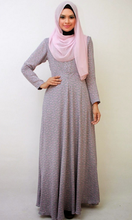 Model Gamis Simple Terbaru 2015