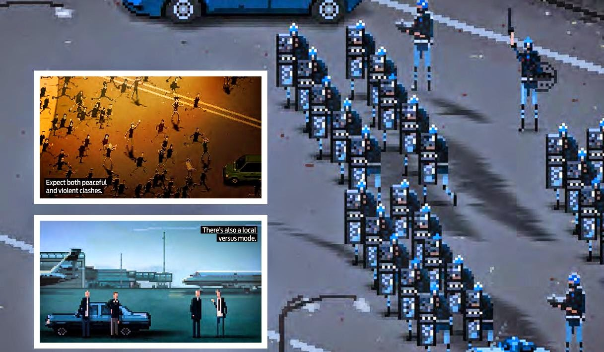 RIOT The civil unrest sim inspired by historic clashes worldwide.