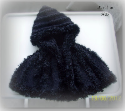 Black Cape for American Girl Doll.Hope you like it Cayle.