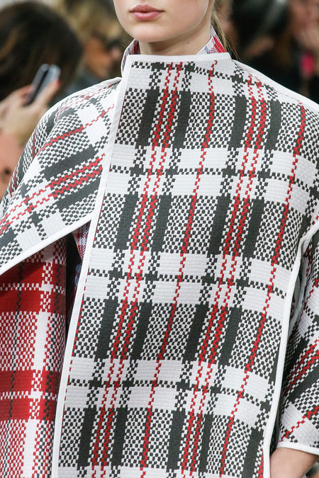 Celine Fall 2013 Details, Plaid, Tartan, Fashion, Style, Trend, Phoebe Philo, Paris, Fashion Week, Forecasting