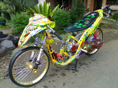 mio racing look modifikasi