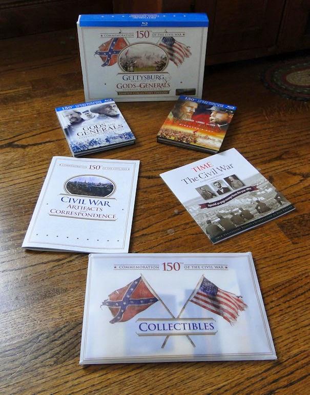 Box Set Consisting Of Gods Generals And Gettysburg