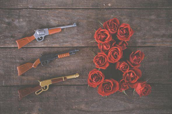 Emily Blincoe fotografia divertida isso e aquilo e comercial ampersand Armas e rosas