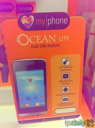 MyPhone Ocean Lite Specs