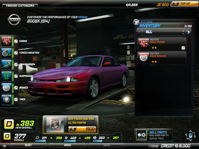Need For Speed World - Performance Shop 1