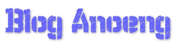 Blog Anoeng