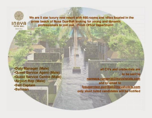 Image Result For Lowongan Kerjael Inaya Putri Bali