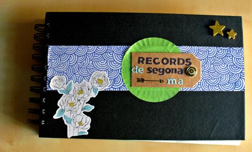scrapbook album recuerdos memories