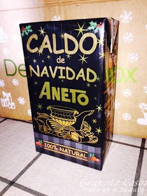 Caldo Aneto Degustabox Noviembre 2015