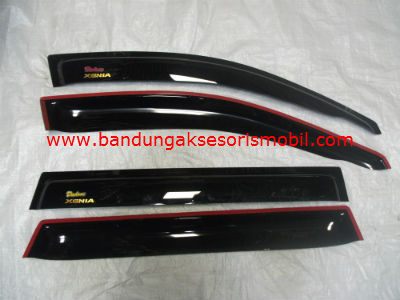 Talang Air Xenia Original Black Depan Belakang