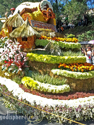 Panagbenga Grand Parade Flower Float