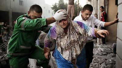 Gambar, Video Dan Berita Terkini Serangan Yahudi Ke Atas Gaza