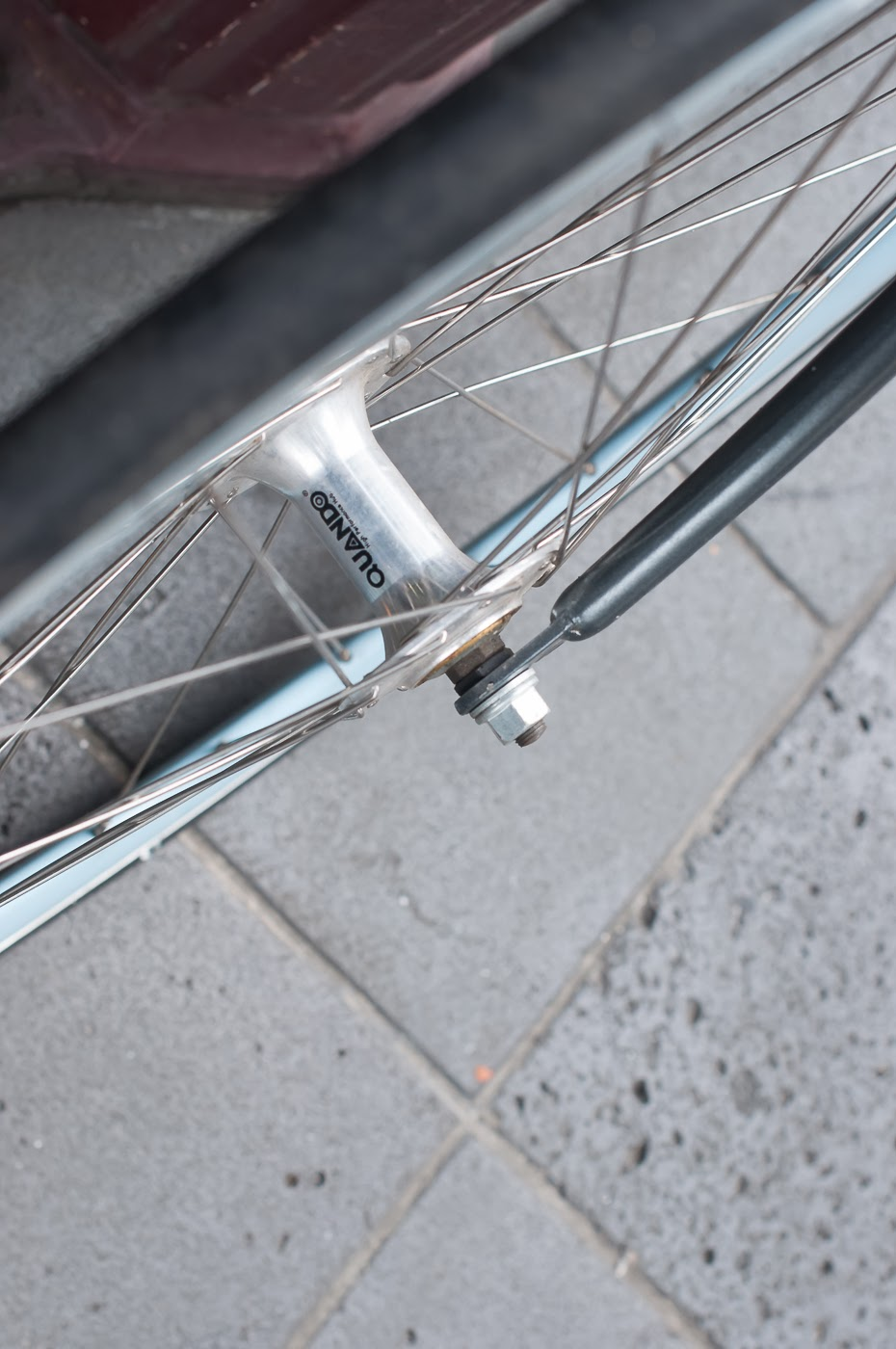 single speed, bike, bicycle, tim macauley, the biketorialist, melbourne, conversion, road bike,  bourke st, custom, quando, hub