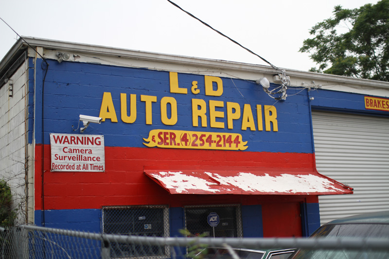 Atlanta Hand Painted Sign 01