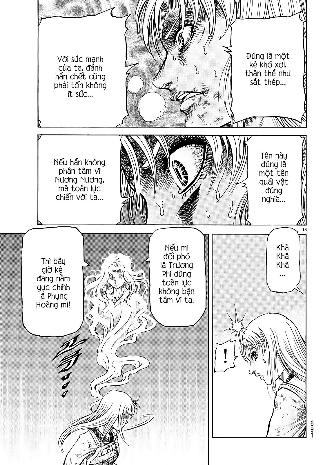 Chú bé rồng-Ryuuroden chap 260 Trang 12 - Mangak.info