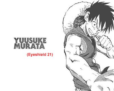 Gambar Luffy yang digambar oleh yuusuke murata