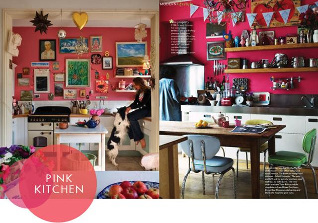 Pink Kitchen Aunt Peaches
