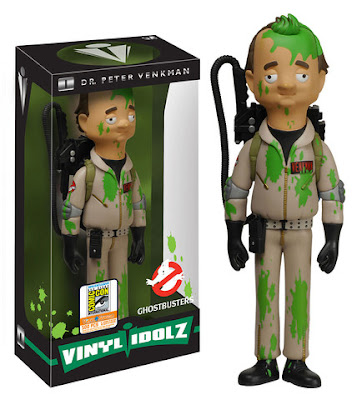 "San Diego Comic-Con 2015 Exclusive Ghostbusters ""Slimed"" Dr. Peter Venkman Vinyl Idolz Figure by Funko"