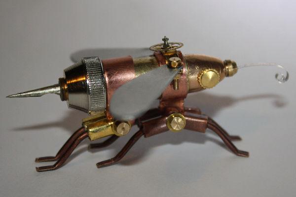Fantásticos insectos robot.   Quiero más diseño