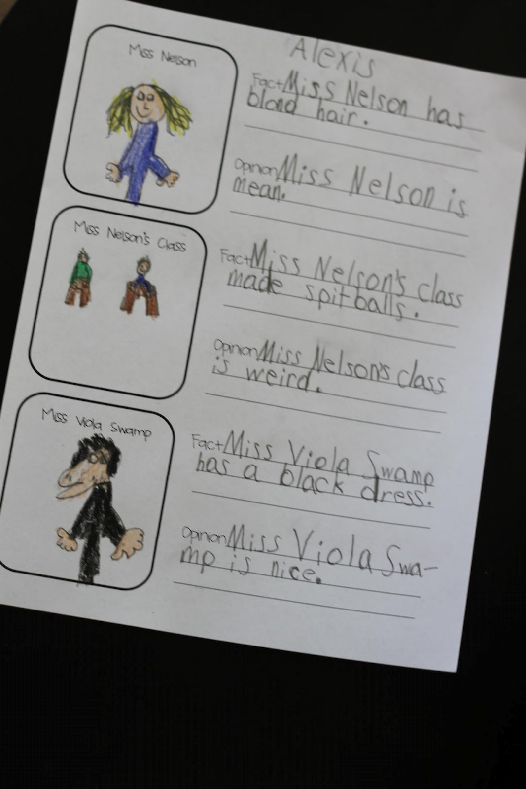 Worksheets Miss Nelson Is Missing Worksheets simply second grade miss nelson is missing freebie freebie