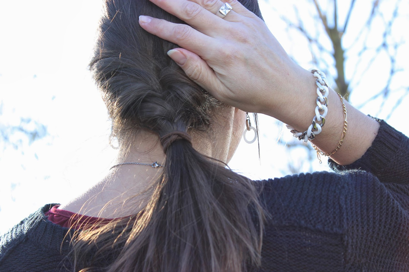 robe naf naf gilet zara bijoux céramiques Styles et Bijoux