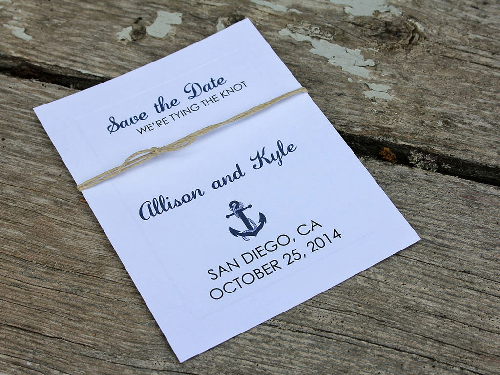 DIY Nautical Wedding – CutCardStock
