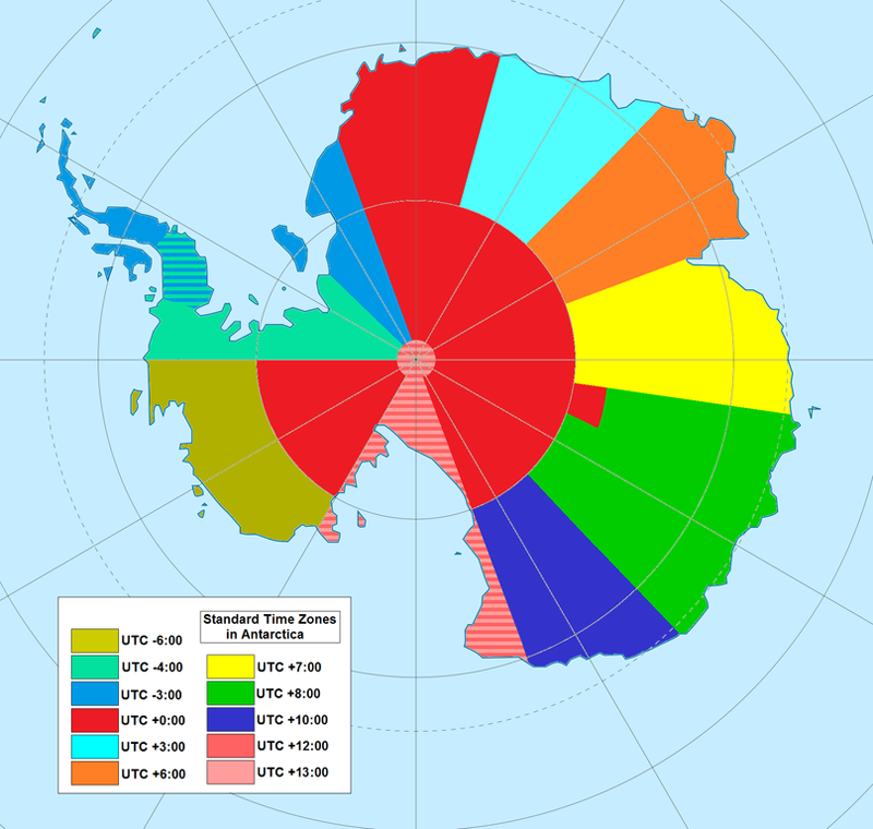 antarctica-time-zones