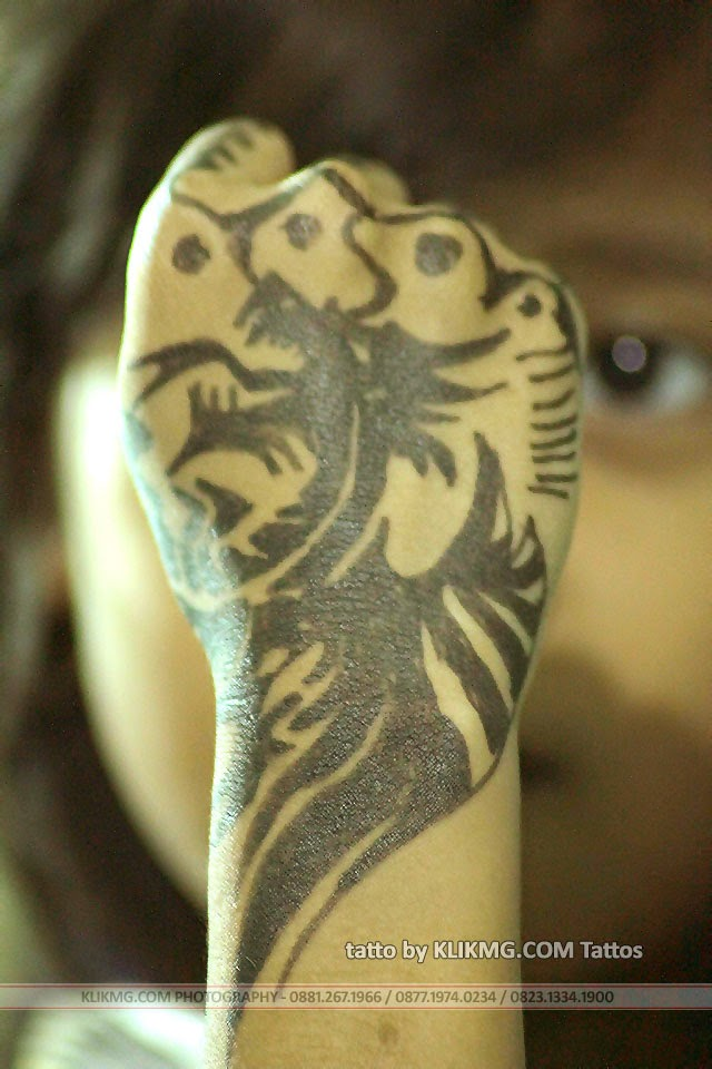 Tatto Dragon Bird Arrow - Tatto by KLIKMG Tattos