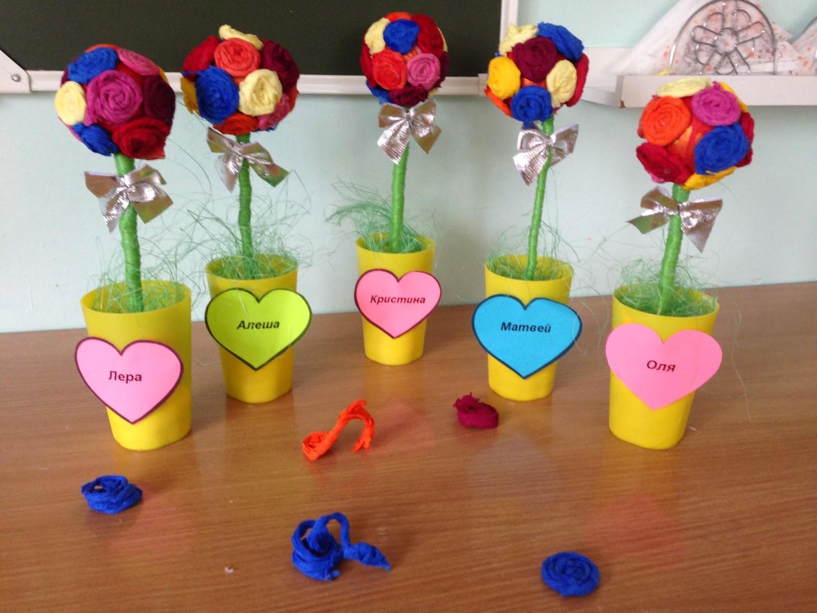 Подарки на день матери в детском саду своими руками фото