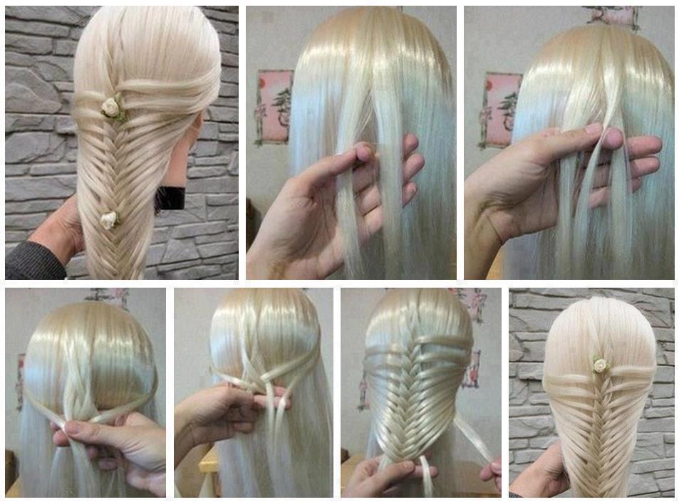 Как плести красивые прически из волос