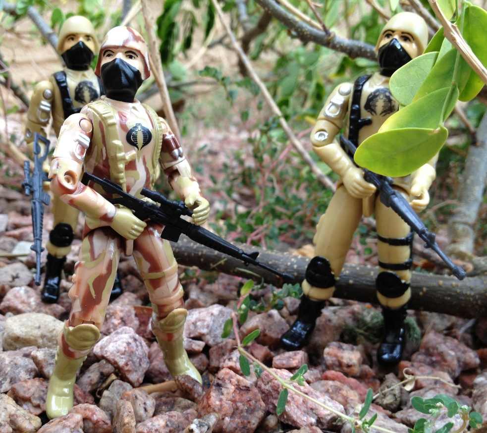 2009 Bootleg Cobra Trooper, Desert, Black Major