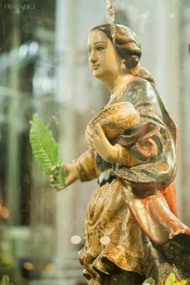 Imagens da abertura da festa de Santa Luzia em Mossoró - RN