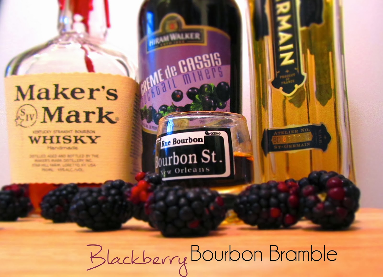 diamonds on the vine: Tipsy Tuesday: Blackberry Bourbon Bramble