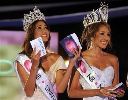 Miss Nuestra Belleza El Salvador 2012 winners Ana Yancy Clavel Maria Luisa Vicuna