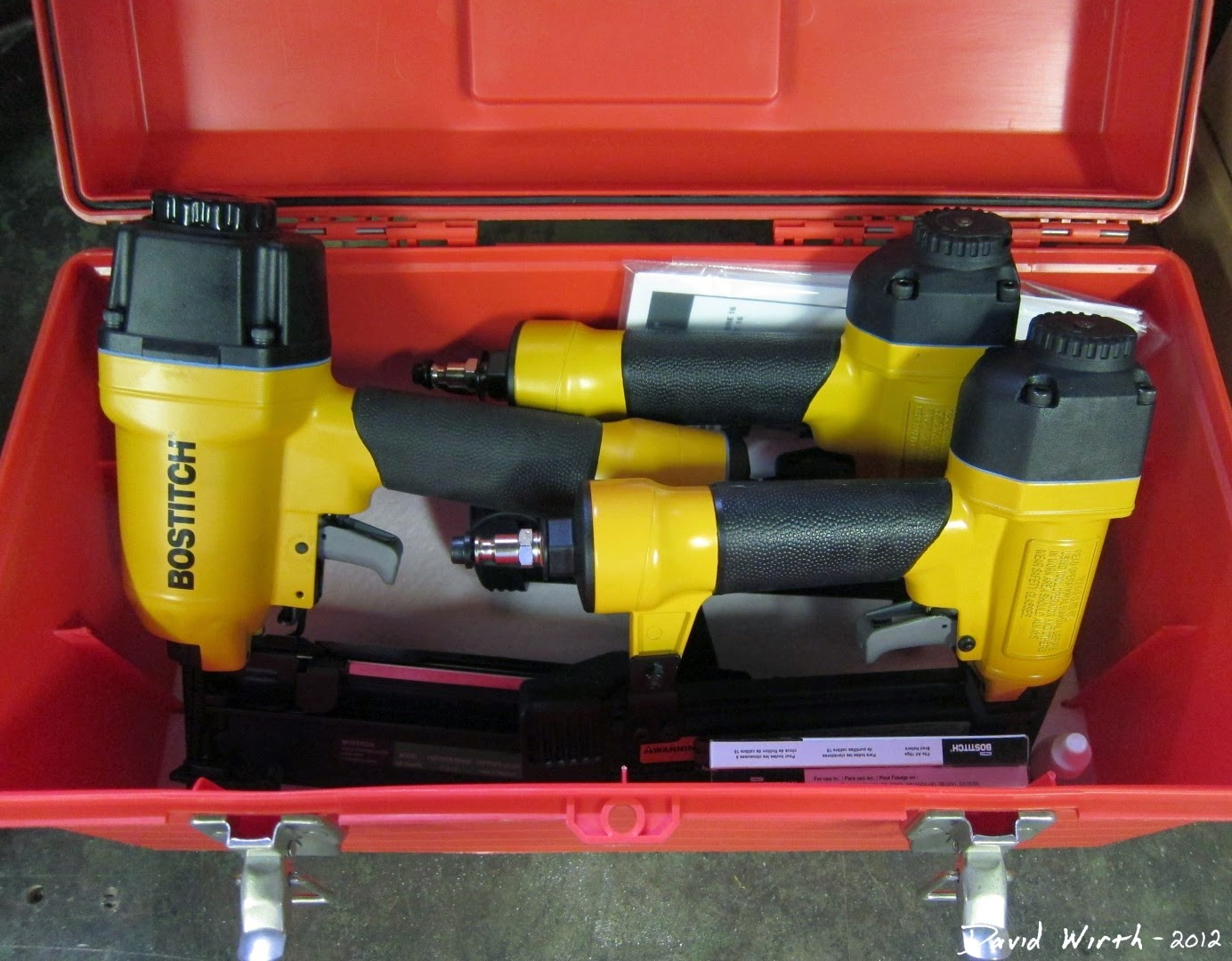 Folding Tool Box - Nail Gun Case
