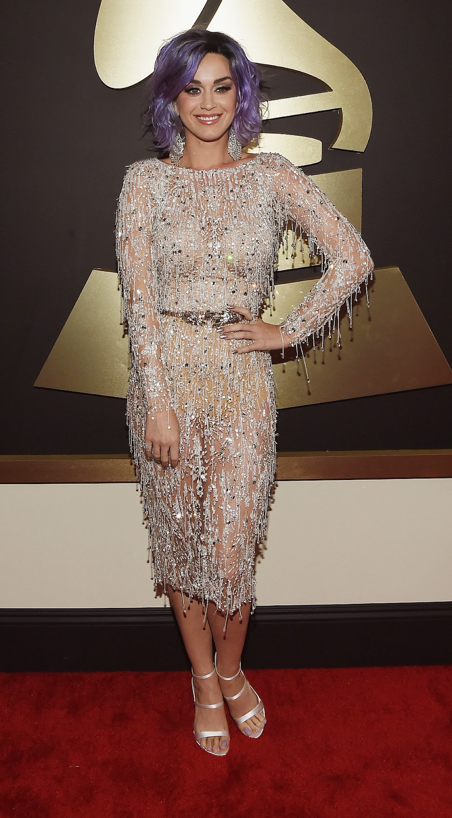 Katy Perry  2015 Grammy Red Carpet Fashion