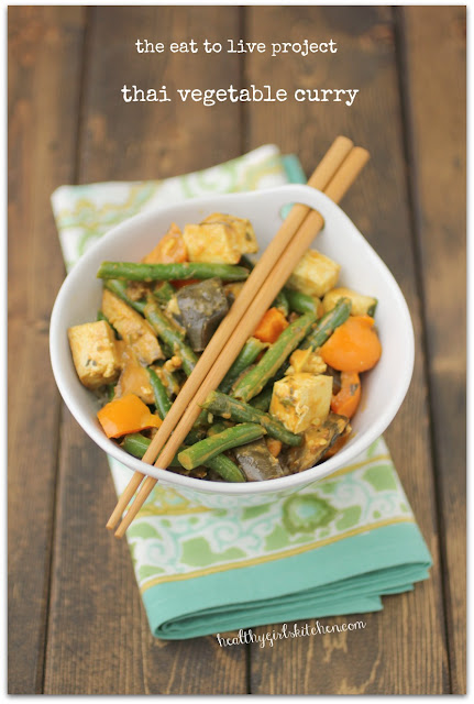 the eat to live cookbook project: thai vegetable curry