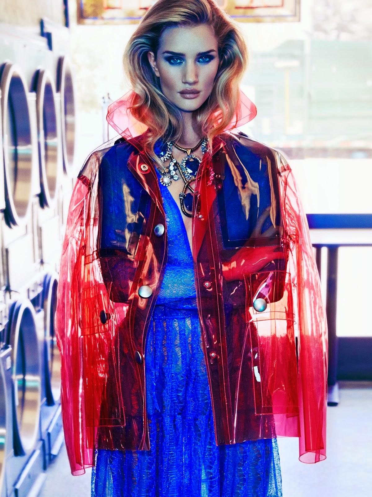 British supermodel Rosie Huntington-Whiteley By James Macari For Vogue Mexico November 2014
