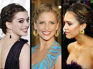 Pictures of Braiding Hairstyles - Celebrity Hairstyle Ideas