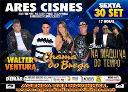 ARES CISNES - CHAMA DO BREGA.