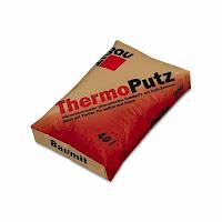 Tencuiala termoizolanta - contine perlit - Baumti - aplicare mecanizata: isolare termica - alternativa termosistem