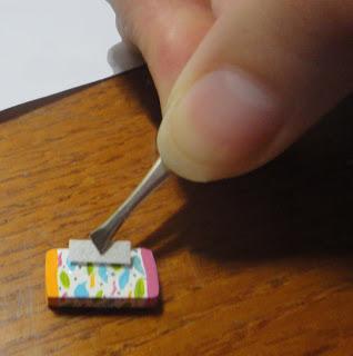 Maqueta personalizada, cuidando mucho los pequeño detalles. Todo artesanal.