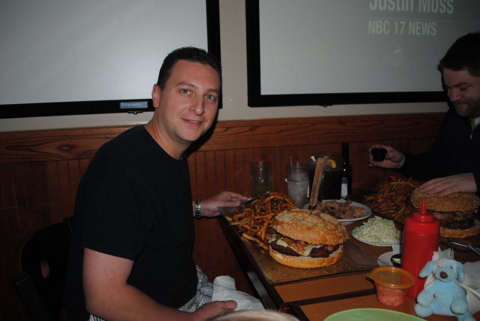Check Out The Pictures From The Burger Challenge!