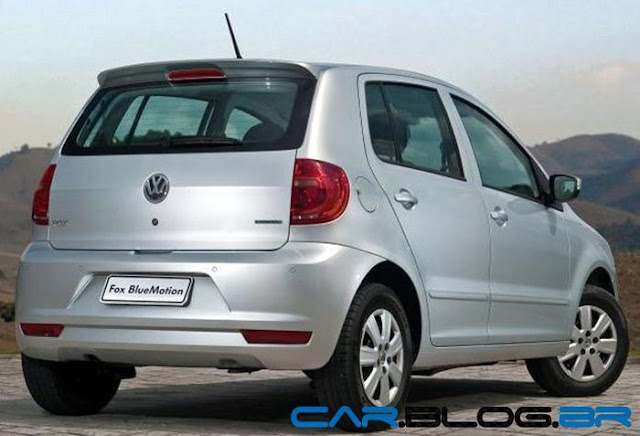 VW Fox Bluemotion 2013 - traseira