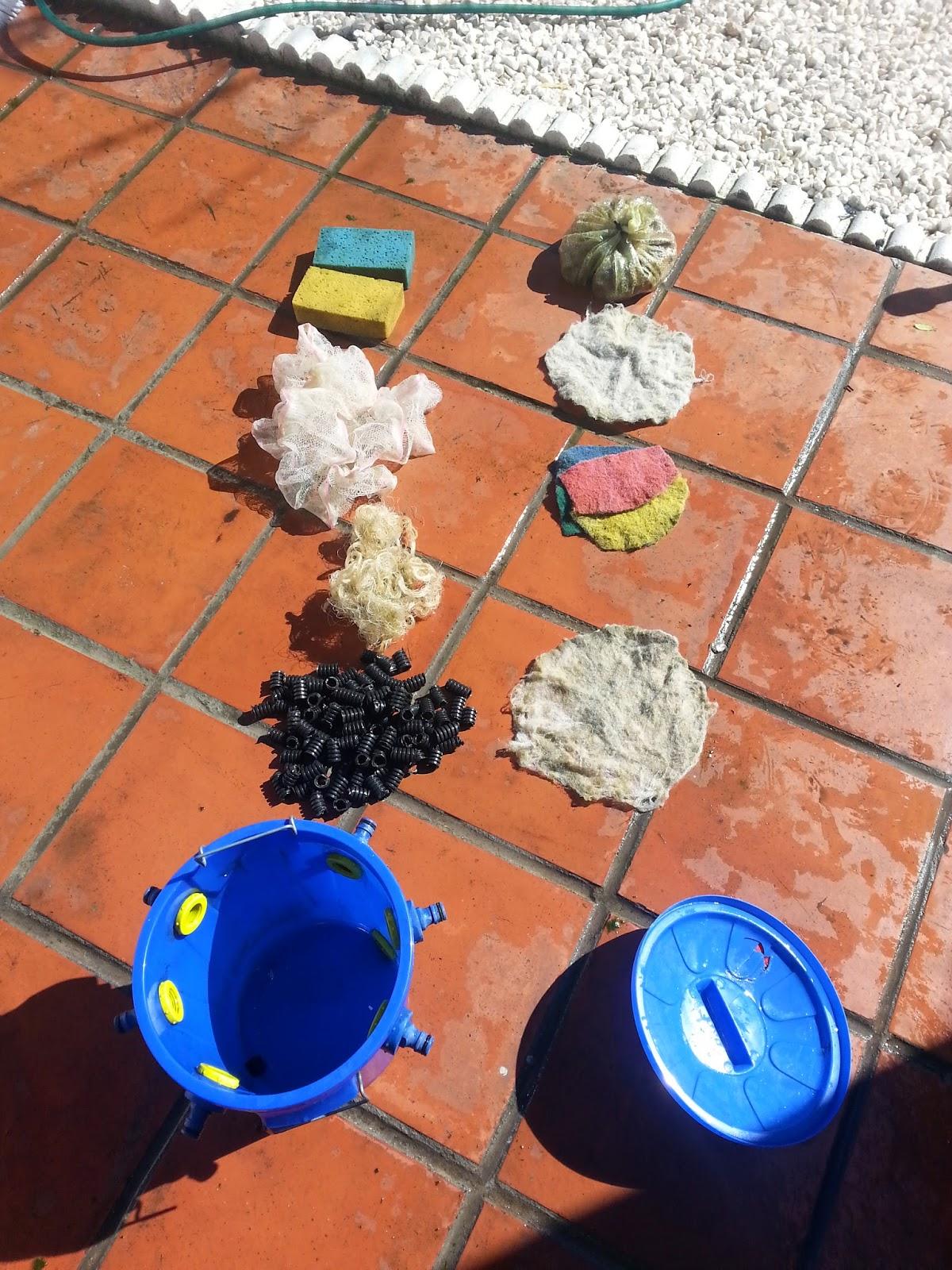 Aprendiz de todo y maestro de nada for Filtro solar para estanque