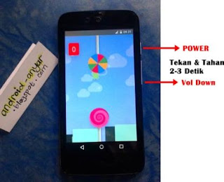 Tutorial Cara Ambil Screenshot Layar Android One Tanpa Aplikasi TANPA Root