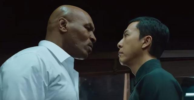 ドニー・イェン マイク・タイソン 映画イップ・マン3